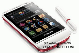 ����������� Android-�������� Philips T910