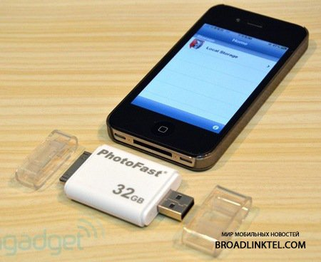 i-FlashDrive - ����-������ �� PhotoFast ��� iPhone, iPad � iPod