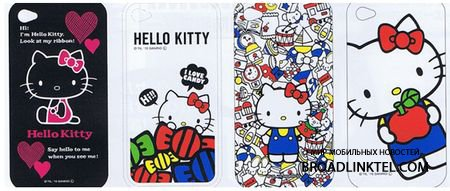 Hello Kitty ���������������  ������ ��� ������ iPhone 4