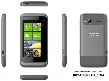 HTC Radar - Windows Phone в алюминии
