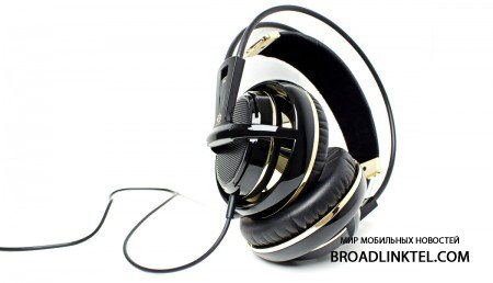 SteelSeries Siberia v2 Black & Gold Anniversary Edition в свободной продаже