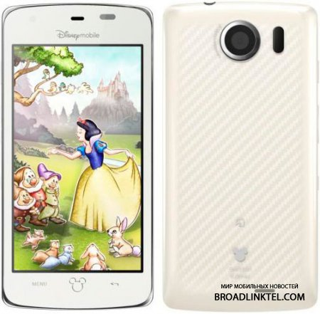 Disney Mobile ������������� ����� ��������� DM011SH � DM010SH