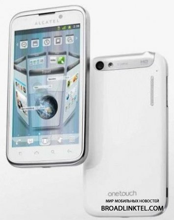 Alcatel представил Android-смартфон One Touch 995 Ultra