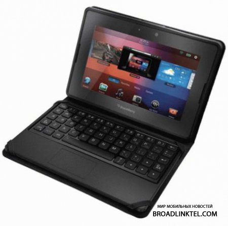 Новый BlackBerry Mini Keyboard - чехол-клавиатура для BlackBerry PlayBook