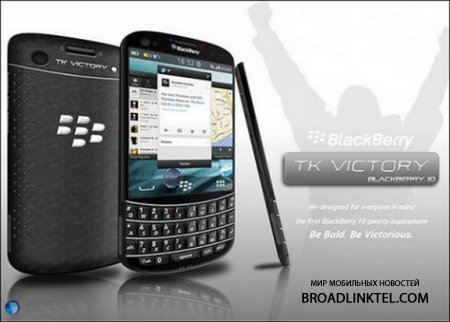 BlackBerry TK Victory - концепт смартфона