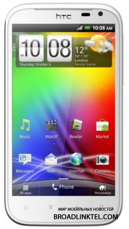 Android 4.0.3 для HTC Sensation XL анонсирован