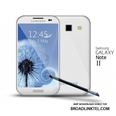 Samsung Galaxy Note II - �������� ���� ������ ������������