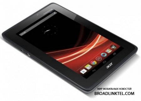 Acer Iconia Tab A110 ����� ����������� � ��� �� Android 4.1 ��� �������