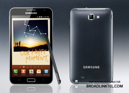 ����������� Galaxy Note ������� ���������� ����� �� Android 4.1.2