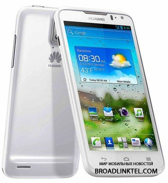 Huawei Ascend D2 - ��������� �������������