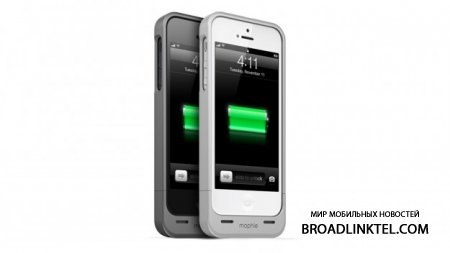 Mophie ����������� ����� ����� � �������� Juice Pack Helium ��� iPhone 5 � �����  $79