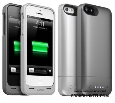 Mophie ����������� �������� ����� ����� �� ���������� ������������� ��� iPhone 5