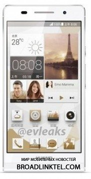 Huawei Ascend P6 - ����������� ����� ������ �������� � ����