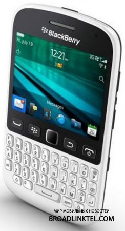 BlackBerry 9720 пошел в продажу в Европе по цене $281