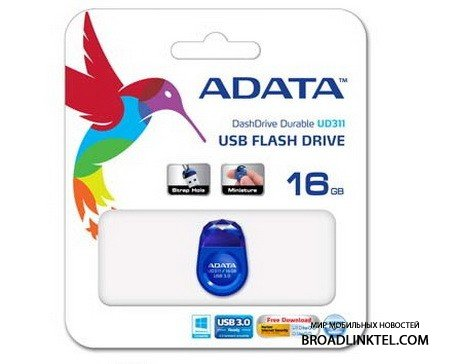 ����� USB-���������� DashDrive Durable UD311 ������ � USB 3.0