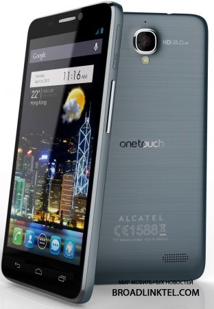 Alcatel One Touch Idol X - ������� �����-�����