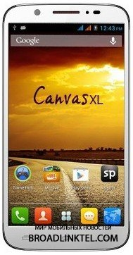Micromax ������������ ������ Canvas XL � 5-�������� Canvas MAd
