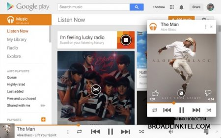Google Play Music ��� ��������� ��������� ������ ����� �������