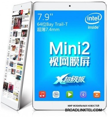 Teclast Taipower X89HD — очередной клон Apple iPad Mini с Android KitKat или Windows 8.1 на выбор