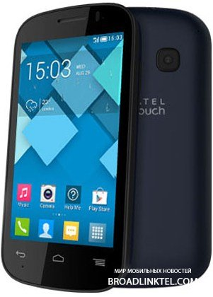 ALCATEL ONETOUCH POP C2 � ����� ��������� 4-�������� Android-�������� ���������� 79 ����