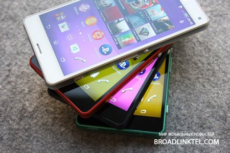 "Sony Xperia Z3 Compact -  ""живые"" фото мини-флагмана из паутины"