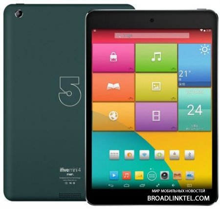 "iFive Mini 4 � ����� ���������� ��������� 7.9"" Android-������� � ����� iPad mini"