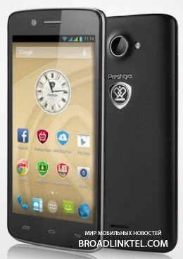 Prestigio MultiPhone 5507 DUO - ����������� ����� �������� � 4-������� ����������� � IPS ��������