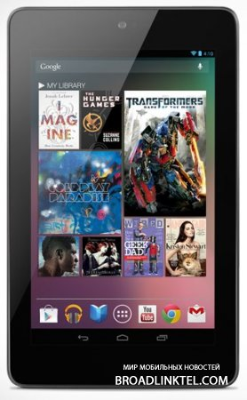 ASUS ���������� ���� ���������� Android 5.0 Lollipop ��� ��������� Nexus 7
