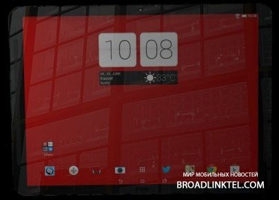 ����������� ����� ������� 11-��������� HTC One Carbon Tablet � ������� �� �������