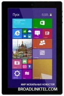 bb-mobile Techno W8.9 3G � ����� 8.9-�������� ������� �� ���� Windows 8.1 with Bing