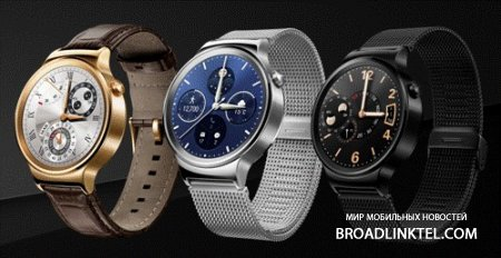 ����� �����-���� Huawei Watch � ��� ������������ ������ � �� Android Wear