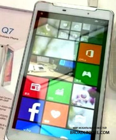Ramos Q7 � ����� ����������� �� ���� �� Windows Phone 8.1