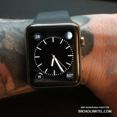 Apple �������� ��������������� ����� Apple Watch � ������������
