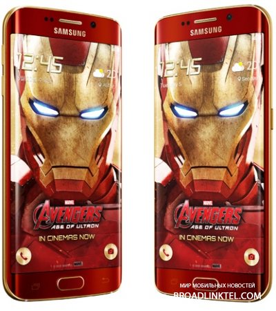 Анонсирован новый Samsung Galaxy S6 edge Iron Man Limited Edition