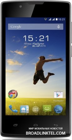 Fly Stratus 1 � ����� ��������������� 4-�������� ���������� � Android 4.4 KitKat �� $65