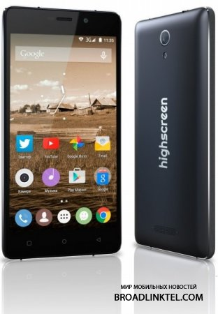 Highscreen Power Five Pro � ��������� �������� � ������ ������������� �� 5000 ���