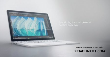 Microsoft ����������� ����� �������-����������� Surface Book i7 � Intel Core i7