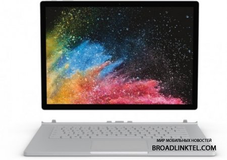 Microsoft Surface Book 2 старт продаж