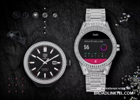 Умные часы TAG Heuer Connected Modular 45 Full Diamond стоят примерно, как Bentley Bentayga